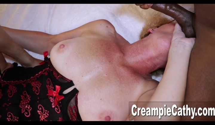 Bbc - Creampie Cathy And Lady Friend Getting Porked