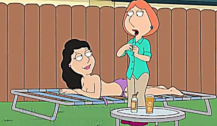 Outdoor - Family Guy Sex - Lois Griffin X Bonnie Swanson Lesbian Fant…