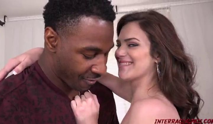 Interracial Interracial Pass Brunette Piper June Gets Fucke…